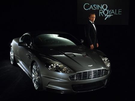 Daniel Craig as James Bond in Casio Royale. Image credit - Aston Martin